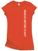 Remove Before Flight - Long Bodied Shirt