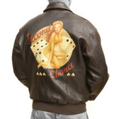 """Second Chance"" A-2 ""Good Luck Pin-Up"" Jacket"