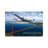 Sentimental Journey Metal Sign