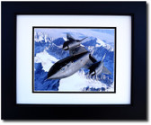 SR-71 Blackbird Over the Rockies