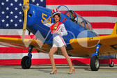 """Shannon"" with a Fairchild PT-26"