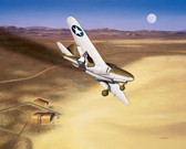 """The Beginning"" by Mike Machat - The Bell XP-59 Airacomet"