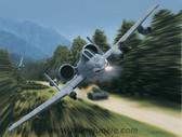 "Thunderstruck by Dru Blair -  A-10 Thunderbolt II/""Warthog"""