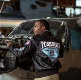Tuskegee Airmen A-2 Goat Jacket