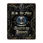 USAF Spirit Metal Sign
