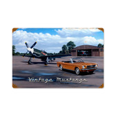 Vintage Mustangs Vintage Metal Sign 1