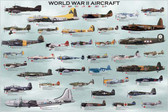 World War II Aircrafts (World-War-II-Aircrafts) Aviation Art