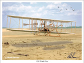 Wright Flyer (wrightflyer) Aviation Art