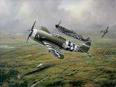 Steadfast Against All Odds (Pilot Signed) (DEN-01) Aviation Art
