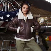 Women's B-3 Bomber Jacket