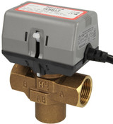 Honeywell VC6613MP6000 3-way valve, 1″ IT, with limit switch