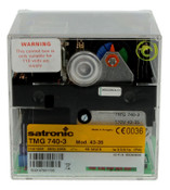 Honeywell TMG740-3 mod. 43-35, Satronic 08223U, 110V, Combined burner control unit