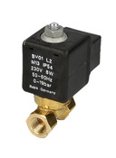 "Rapa BV01L2 1/8"", solenoid valve for heating oil EL, closed and flowless"