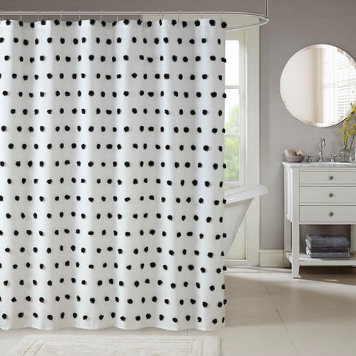 Sophie Black Shower Curtain (Sophie Black-Shower)