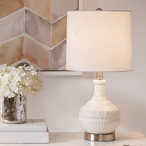 Gypsy White Table Lamp (Gypsy White-Lamp)