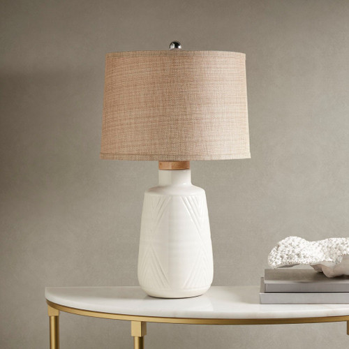 Tate Ivory Table Lamp (Tate Ivory-Lamp)