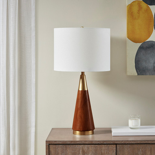 Chrislie Gold/Brown Table Lamp (Chrislie Gold/Brown-Lamp)