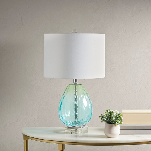 Borel Blue Table Lamp (Borel Blue-Lamp)
