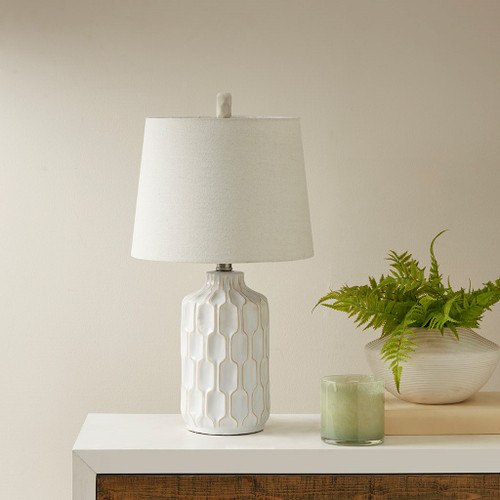 Contour Ivory Table Lamp (Contour Ivory-Lamp)