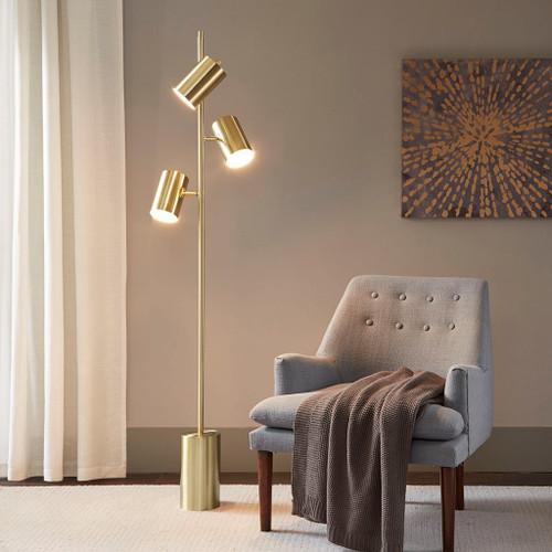 Alta Gold Floor Lamp (Alta Gold-Lamp)