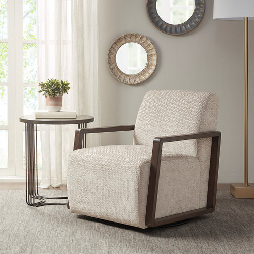 Reed Light Tan Swivel Chair (Reed Light Tan-Swivel Chair )