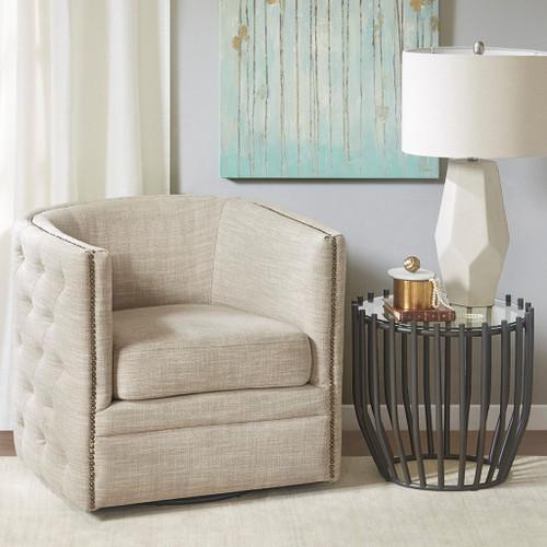 Capstone Cream Swivel Chair (Capstone Cream-Swivel Chair )