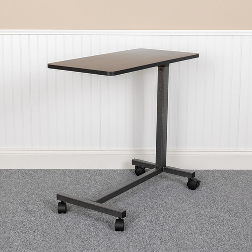 Adjustable Overbed Table w/Wheels for Home & Hospital