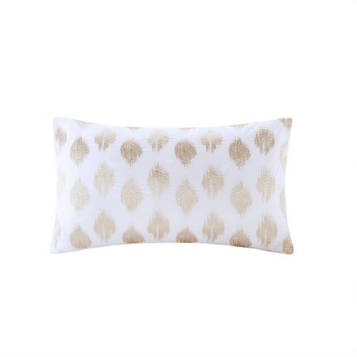Stella Dot Cotton Oblong Copper Pillow (Stella Dot Cotton Oblong Copper-Pillow)