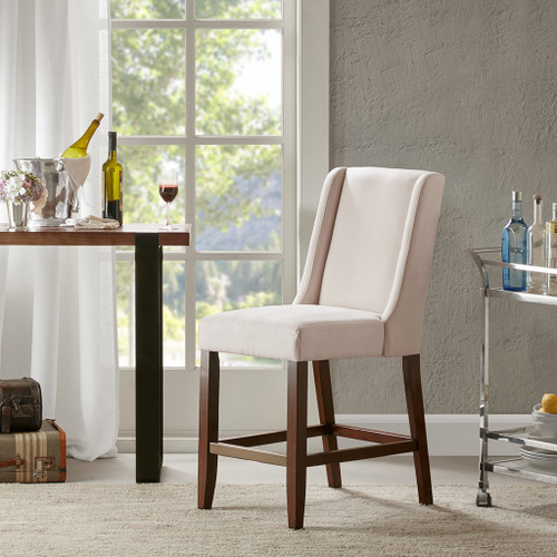 Brody Wing Cream Counter Stool (Brody Wing Cream-Counter Stool)
