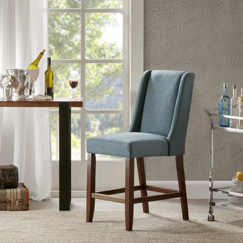 Brody Wing Blue Counter Stool (Brody Wing Blue Counter Stool)