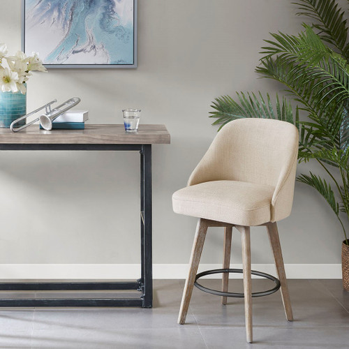 Pearce Sand Counter Stool With Swivel Seat (Pearce Sand-Counter Stool With Swivel Seat)