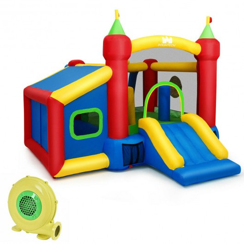 Children's Gi' Inflatable Bounce House w/480W Blower