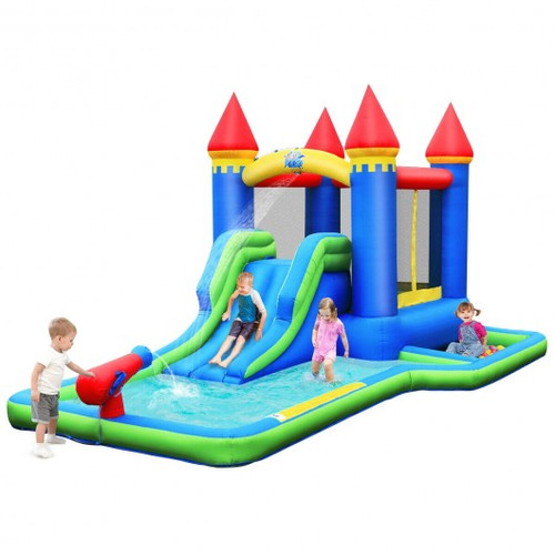 Children's Inflatable Bounce House Water Slide w/o Blower
