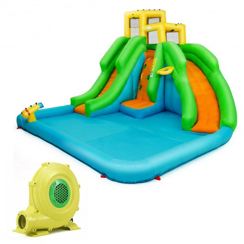 Children's Inflatable Water Park Bounce House w/480 W Blower