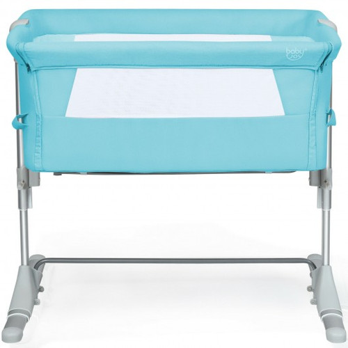 Travel Portable Baby Bed Side Sleeper  Bassinet Crib w/Carrying Bag-Green