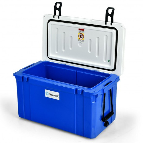 20-Can Ice Chest w/Food Grade Material-Blue