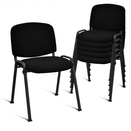 Set of 5 Conference Chair Elegant Office Chair for Guest Reception