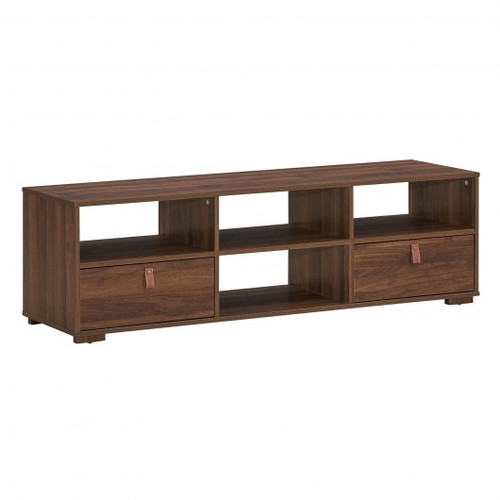 """TV Stand Entertainment Media Center Console for TV's up to 60"""" w/Drawers Walnut-Walnut"""
