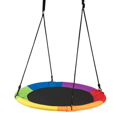 """40"""" Flying Saucer Tree Swing Outdoor Play for Children"""