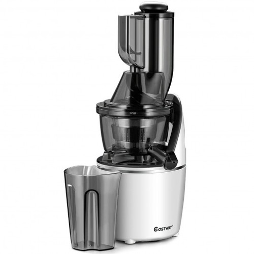"""Juicer Machines Slow Masticating Juicer Cold Press Extractor w/3"""" Chute"""