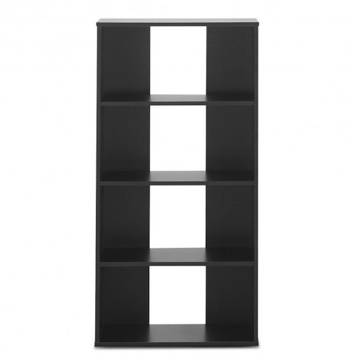 4-tier Bookcase One Fixed & Three Adjustable Shelves