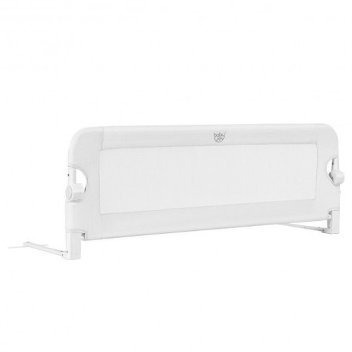 """48"""" Breathable Baby Swing Down Safety Bed Rail Guard-White"""