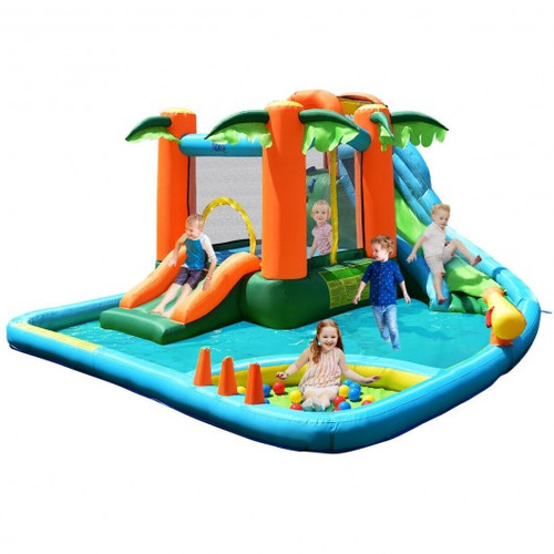 Children's Inflatable Water Slide Bounce House w/Blower