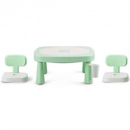 AR Function Children Game Table & Chair Set-Green