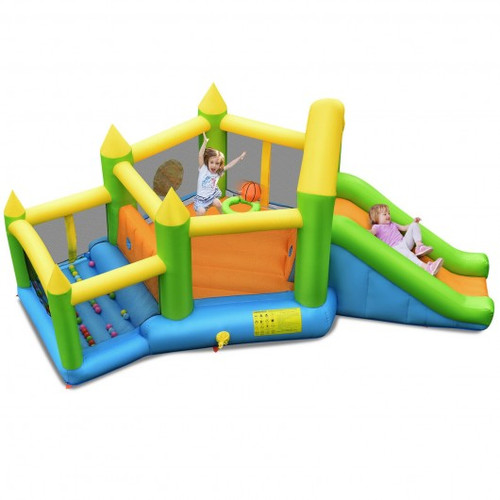 Inflatable Ball Game Bounce House w/o Blower