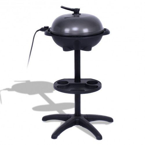 1350 W Outdoor Electric BBQ Grill w/Removable Stand