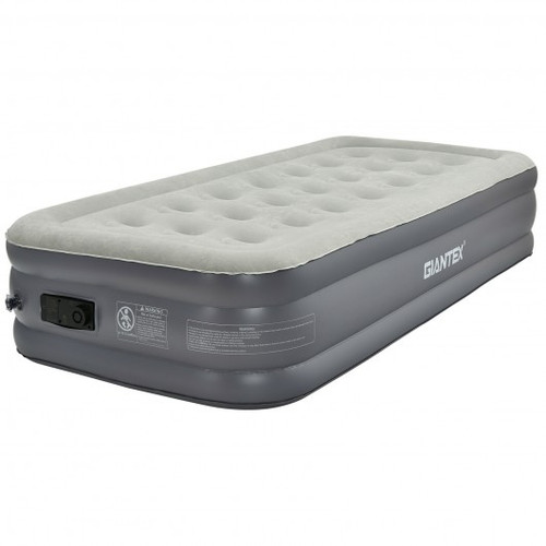 Portable Fast Inflation Air Bed w/Built-in Pump for Home Camping