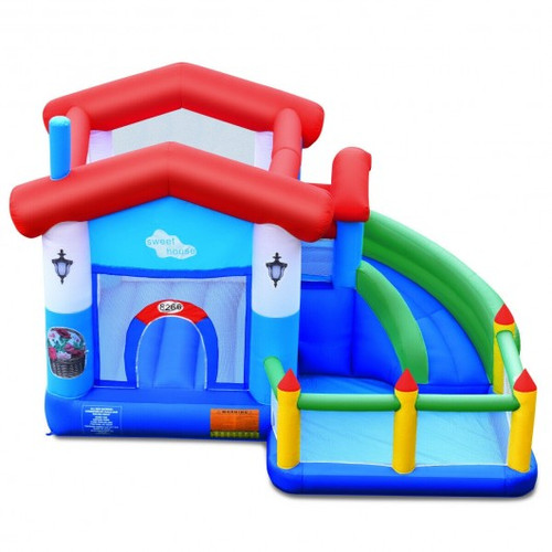 Children's Inflatable Bounce Slide Castle Ball Pit w/o Blower