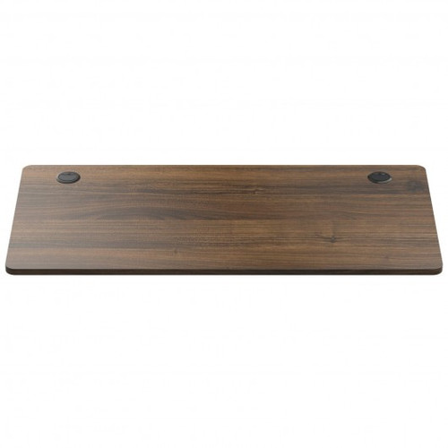 Universal Table Top for Office Relevance Desktop w/2 Cable Holes-Walnut