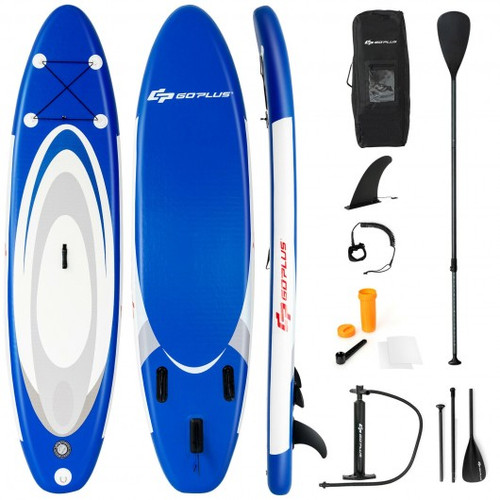 10' Inflatable Stand Up Paddle Surfboard w/Bag